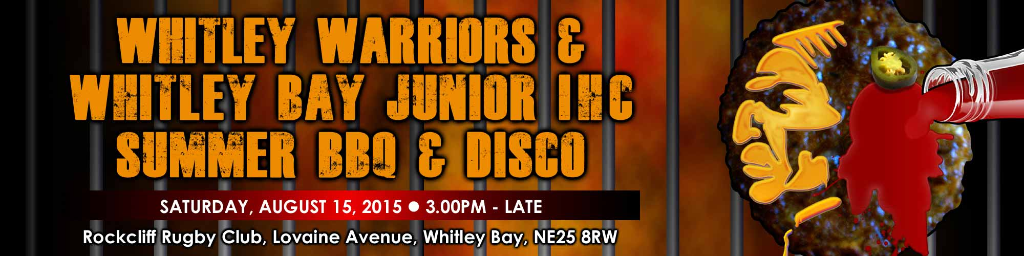 Whitley Warriors and Whitley Bay Junior IHC Summer Barbecue and Funday
