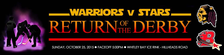 Whitley Warriors vs Billingham Stars, 25 October 2015, face off 5pm